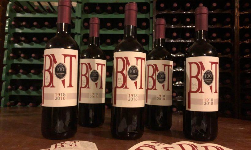 Il nuovo vino BNT 100
